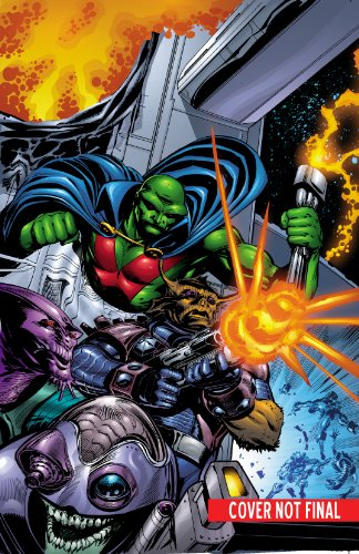 Martian Manhunter - Rings of Saturn   2014 9781401251413 Front Cover