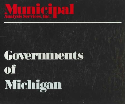 Governments of Michigan 1997: Annual Financial & Employee Analysis  1997 edition cover