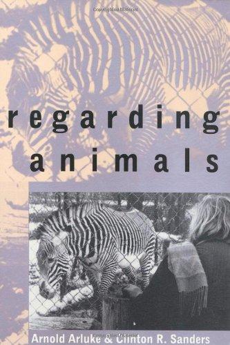 Regarding Animals   1996 9781566394413 Front Cover