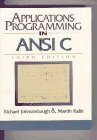 Applications Programming in ANSI C  3rd 1996 (Revised) edition cover