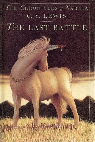 Last Battle   1984 edition cover