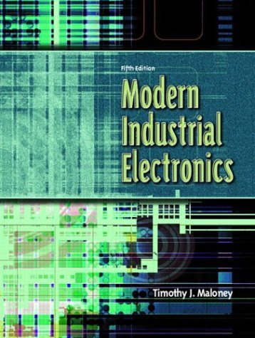 Modern Industrial Electronics  5th 2004 (Revised) edition cover
