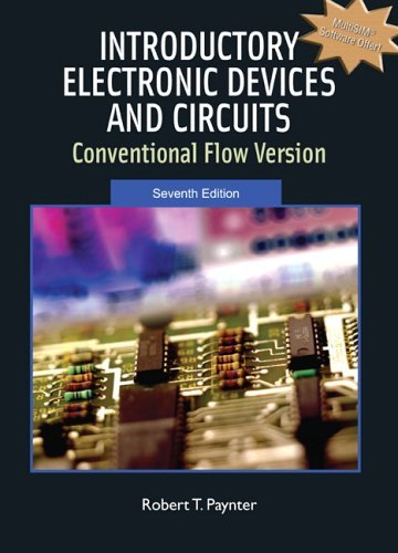 Introductory Electronic Devices and Circuits Conventional Flow Version 7th 2006 (Revised) edition cover
