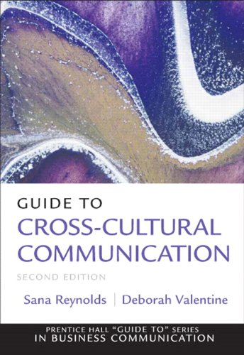 Guide to Cross-Cultural Communications  2nd 2011 edition cover
