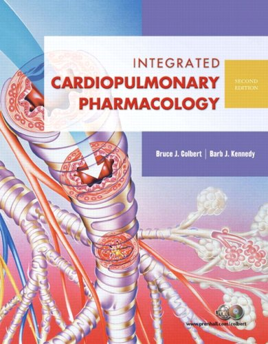Integrated Cardiopulmonary Pharmacology  2nd 2008 edition cover