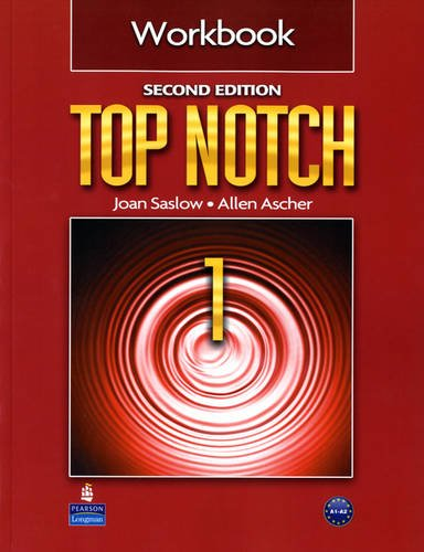 Top Notch 1 Workbook  2nd 2011 edition cover