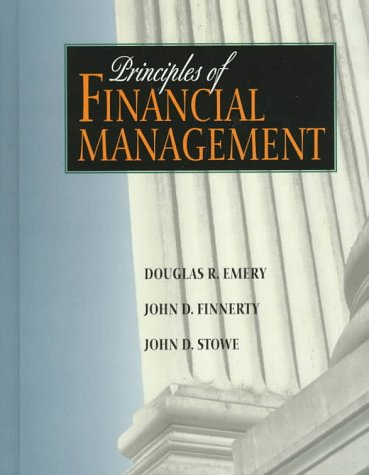 Principles of Financial Management   1998 9780134335414 Front Cover
