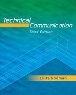 TECHNICAL COMMUNICATION 3rd 2005 edition cover