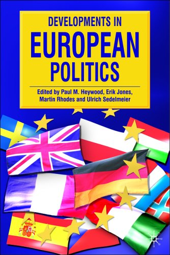 Developments in European Politics   2006 9780230000414 Front Cover