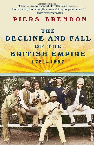 Decline and Fall of the British Empire, 1781-1997  N/A edition cover
