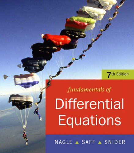 Fundamentals of Differential Equations  7th 2008 (Revised) edition cover