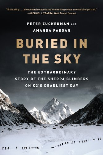Buried in the Sky The Extraordinary Story of the Sherpa Climbers on K2's Deadliest Day  2013 edition cover