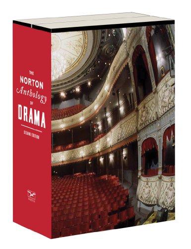 Norton Anthology of Drama  2nd edition cover