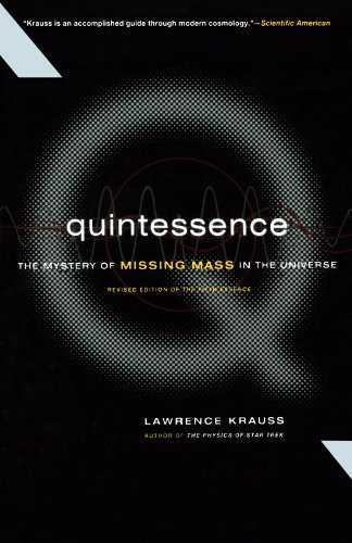 Quintessence The Mystery of Missing Mass in the Universe N/A edition cover