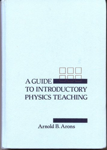 Guide to Introductory Physics Teaching   1990 edition cover