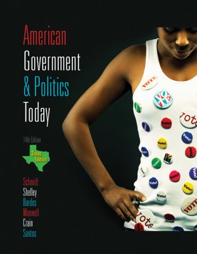 American Government and Politics Today - Texas Edition, 2009-2010  14th 2010 9780495568414 Front Cover