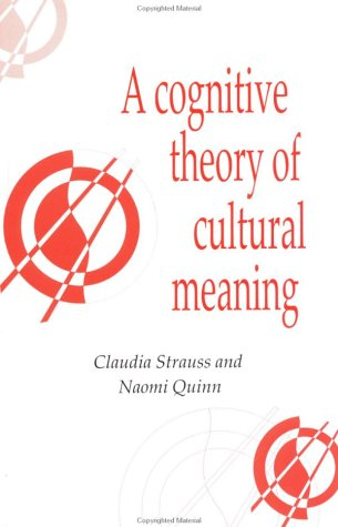 Cognitive Theory of Cultural Meaning   1997 9780521595414 Front Cover
