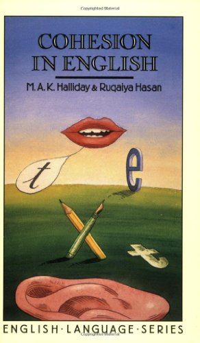 Cohesion in English   1976 edition cover