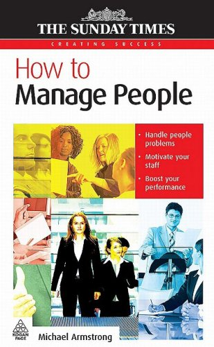 How to Manage People   2008 9780749452414 Front Cover
