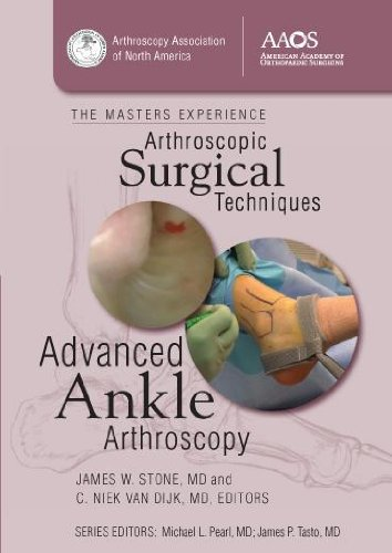 Arthroscopic Surgical Techniques: Advanced Ankle Arthroscopy  2012 edition cover