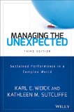 Managing the Unexpected  3rd 2015 9781118862414 Front Cover