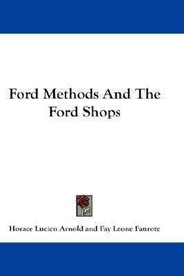 Ford Methods and the Ford Shops N/A edition cover