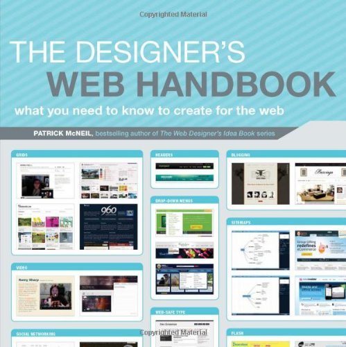 Designer's Web Handbook What You Need to Know to Create for the Web  2012 edition cover