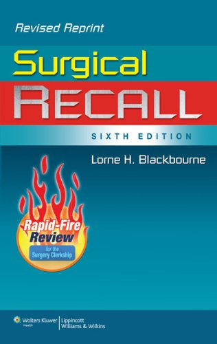 Surgical Recall  6th edition cover