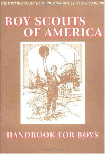 Official Handbook for Boys  Reprint 9781557094414 Front Cover