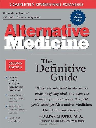 Alternative Medicine The Definitive Guide 2nd 2002 edition cover