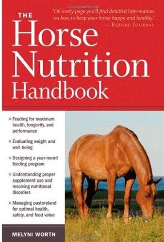 Horse Nutrition Handbook   2010 edition cover