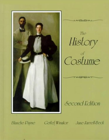 History of Costume  2nd 1992 edition cover