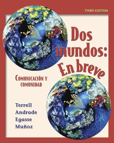 Dos mundos en breve Student Edition with Bind-in Passcode  3rd 2006 edition cover