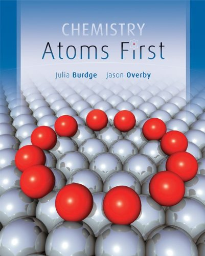 Chemistry Atoms First  2012 edition cover