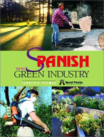 Spanish for the Green Industry   2003 edition cover
