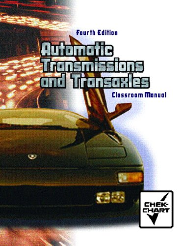 Automatic Transmissions and Transaxles  4th 2004 edition cover