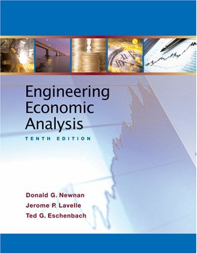 Engineering Economics Analysis  10th 2008 edition cover