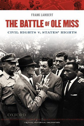 Battle of Ole Miss Civil Rights V. States' Rights  2009 edition cover