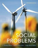 Social Problems  13th 2014 edition cover