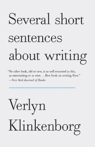 Several Short Sentences about Writing  N/A edition cover