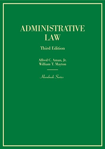 Administrative Law:   2014 9780314279415 Front Cover