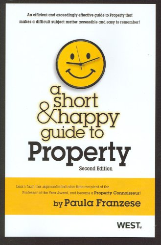 Short and Happy Guide to Property  2nd 2012 (Revised) edition cover