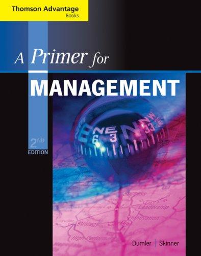 Primer for Management  2nd 2008 (Revised) edition cover
