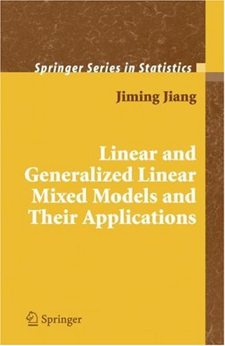 Linear and Generalized Linear Mixed Models and Their Applications   2007 edition cover