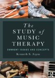 Study of Music Therapy: Current Issues and Concepts   2014 edition cover