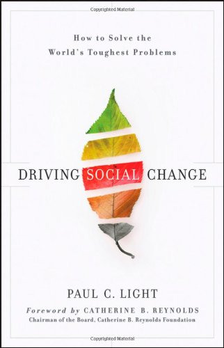 Driving Social Change How to Solve the World's Toughest Problems  2011 edition cover