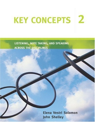 Listening, Note Taking, and Speaking Across the Disciplines   2006 edition cover