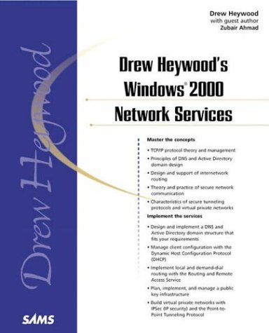Drew Heywood's Windows 2000 Network Services   2001 9780672317415 Front Cover