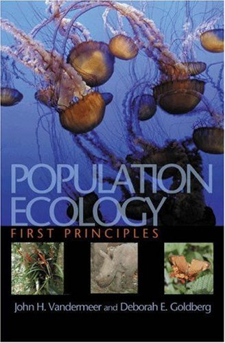 Population Ecology First Principles  2003 edition cover