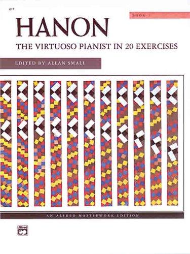 Hanon -- the Virtuoso Pianist, Bk 1   1971 edition cover